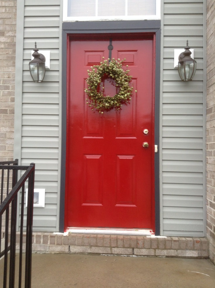 47 Best Images About Painted Front Door On Pinterest