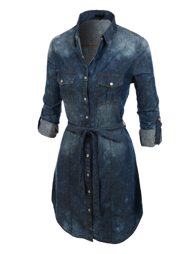 Cool About Denim Shirt Dresses On Pinterest  Jean Shirt Dress Denim Dress