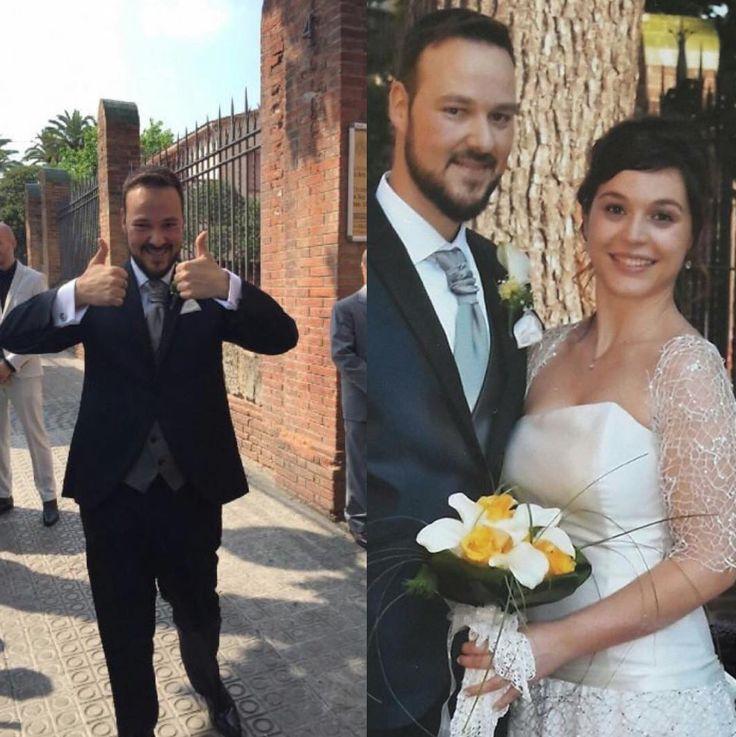 Mercè i Alberto es van casar el passat 17/06/2017 ell va vestir el seu dia amb Trajes Señor  No esperis més i visita'ns! .............................................................................................. Mercé y Alberto se casaron el pasado 17/06/2017 él vistió su día con Trajes Señor ¡No esperes más y visítanos!   #bride #groom #wedding #weddings #bodas #novio #traje #boda #diciembre #suits #suitup