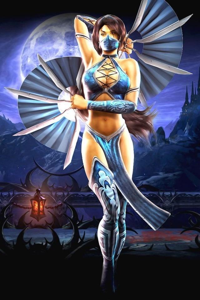 Mortal Kombat Kitana....My favorite Mortal Kombat character
