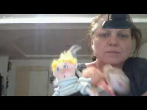 Мини мастер класс Весы из серии знаки зодиака по Гапчинской - YouTube