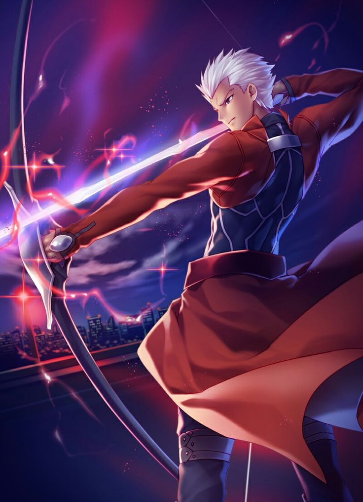Archer Emiya - Fate/Stay Night - Unlimited Blade Works - Heaven's Feel - Fate/Hollow Ataraxia - Fate/Extra - Fate/Extra CCC - Fate/Extella - Fate/Grand Order