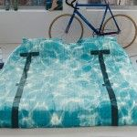 Swimming pool bed spread and pillow cases...nice addition to a water bed..