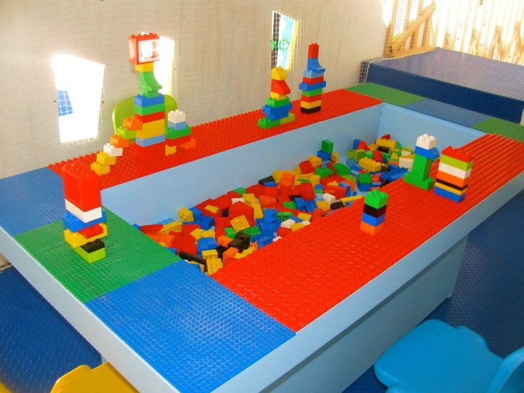 37 best lego tables images on Pinterest | Lego table, Child room and ...
