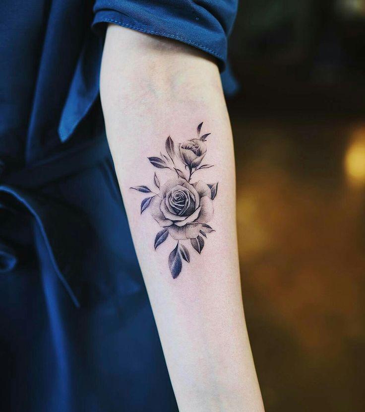 Tattoo done by: @nandotattooer #rose #rosetattoo #rosa