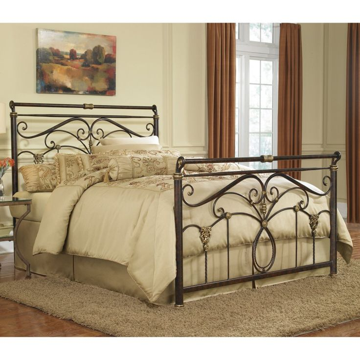 Lucinda Sleigh Bed - Headboards at Hayneedle
