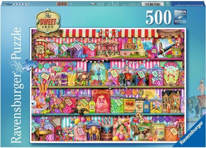Ravensburger Puzzle 500pc - The Sweet Shop