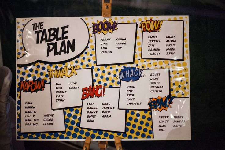 funny wedding table plan ideas - Cerca con Google