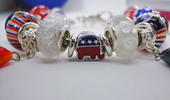 Republican Party Elephant USA European style by anotherdamthing