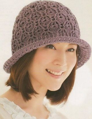 Crocheted hat - use Google Chrome to translate from Russian if you need to.