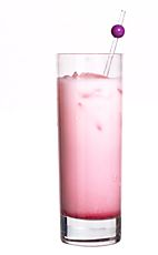 The Pink Panther --  Licor 43 (vanilla & citrus liqueur),  whole milk or cream,  grenadine, Ice cubes.  Fill the glass to a quarter with ice cubes.  Pour 2 parts liqueur and then 1 part milk. Finish with a few drops of Grenadine. Stir & enjoy.