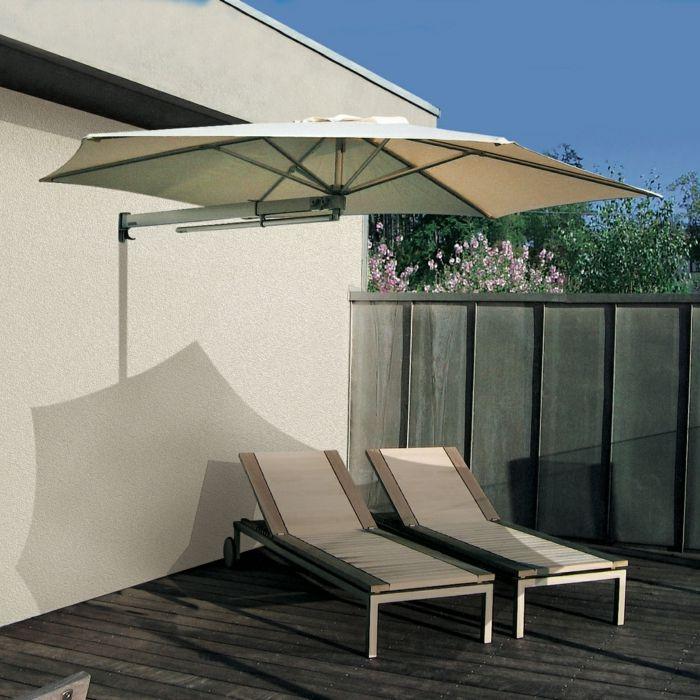 Best 25 sonnenschirm balkon ideas on pinterest terrasse sonnenschirme son - Parasol mural castorama ...