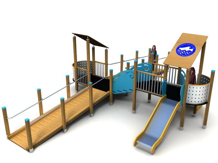 VG5304A - Iki Kuleli Ahşap Oyun Grubu | Ahşap Çocuk Oyun Parkları | Ahşap Oyun Grupları | Çocuk Oyun Parkları | Doapark