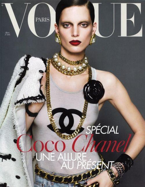 Chanel vogue #chanel