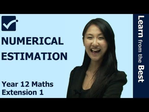 √ Numerical Estimation - Halving the Interval Method of Approximation - Equation Solving Algebra http://www.primeonlinetutor.com/me6 HSC Maths Extension 1 Tutor for finding approximated Roots by Numerical Estimation for Newton's Method and halving the interval Method by Online Study ME6101 http://youtu.be/wM5IIrdLZuk