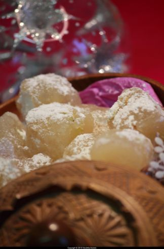 Turkish Delight recipe - The Lion, The Witch and the Wardrobe - Christmas - C.S. Lewis