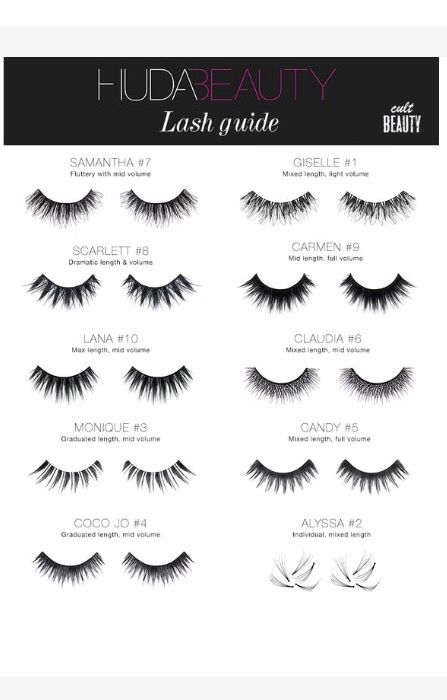 Obsessed with Huda Beauty lashes!