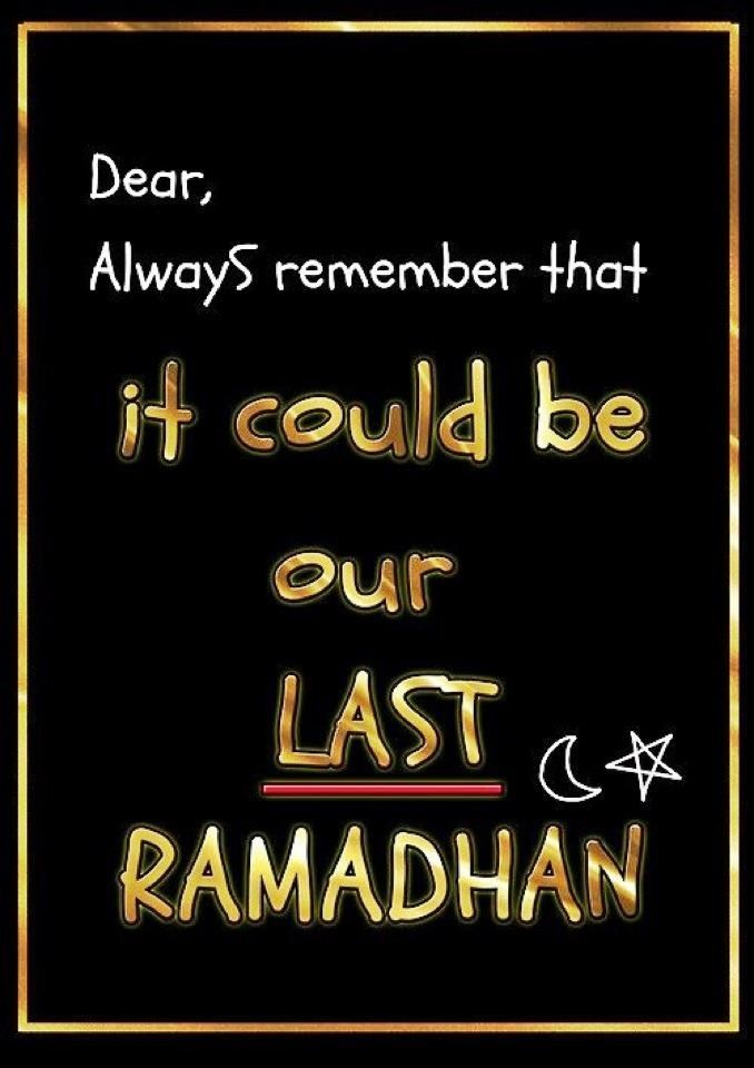 Remember to thank Allah for waking up every Day, tomorow maybe you are not here. Do things for Allah before it is to late!