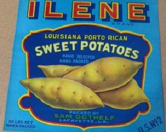 More sweet potatoes, but I live the chevron shape