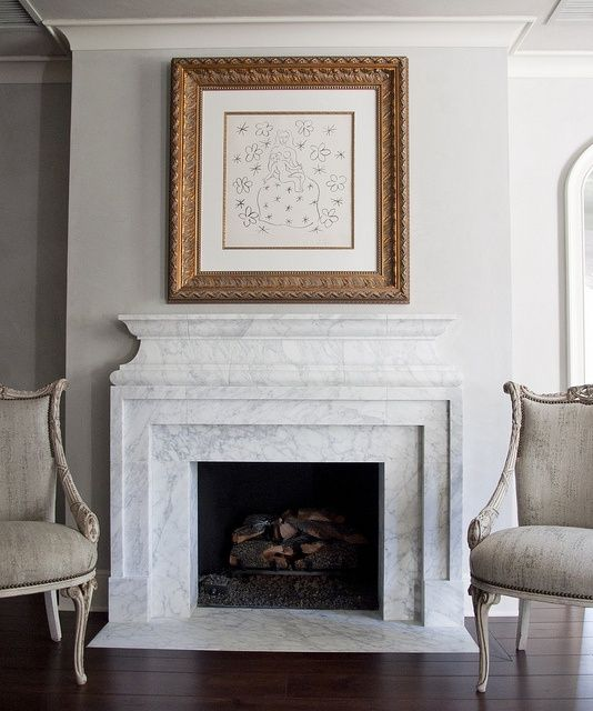 1000  ideas about Marble Fireplace Surround on Pinterest | Marble ...
