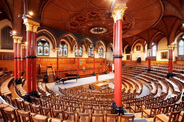 Unseen London HARROW SCHOOL The Speech Room at Harrow ...
