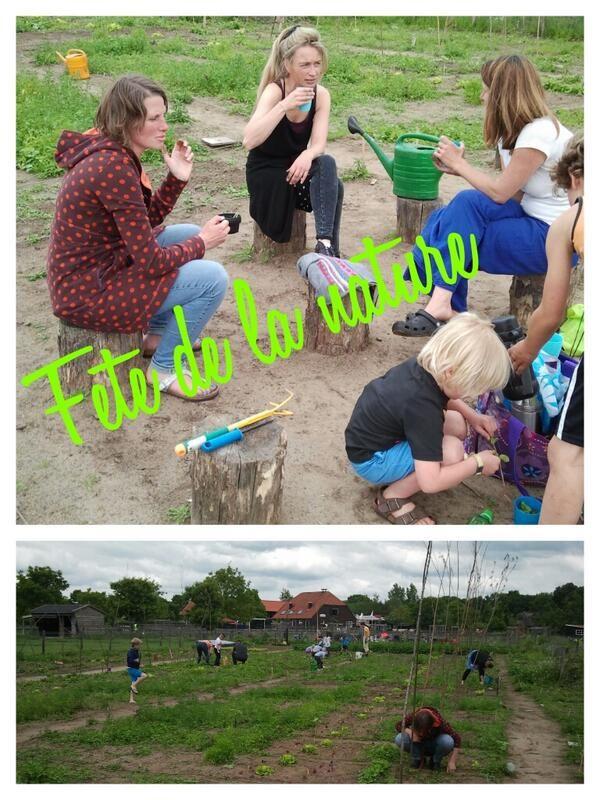 van schooltuinen tot #deOntdekking tot nagenieten in theetuin #FeteNL en #elfie14 bij de #Ulebelt #Deventer - @schooltuintjes