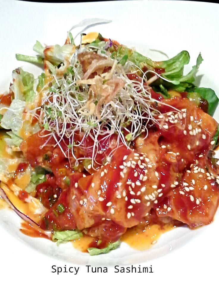 Spicy Tuna Sushimi