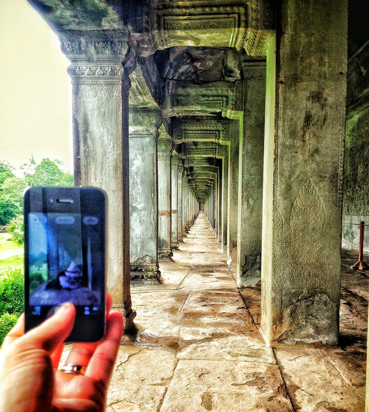 Temples of Cambodia by Jamie Hill #iphone #travel