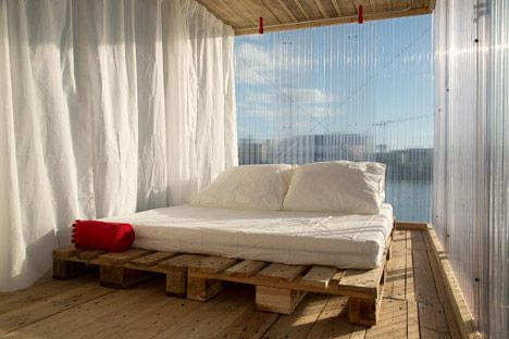 Hotel Shabby Shabby's 22 Pop-up Guest Rooms Included A Recycled Riverside Cabin | Architecture