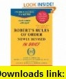Roberts Rules of Order Newly Revised (9th Edition) (9780062760517) Henry M. III Robert , ISBN-10: 0062760513  , ISBN-13: 978-0062760517 ,  , tutorials , pdf , ebook , torrent , downloads , rapidshare , filesonic , hotfile , megaupload , fileserve