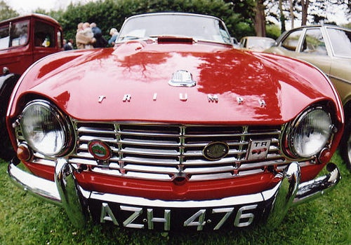 tr4 red - Google Search