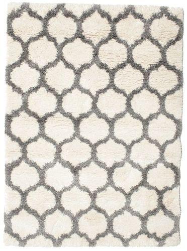 Berber Shaggy Illusia - Off White / Szürke 140x200 - CarpetVista