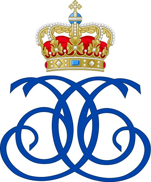 Royal Monogram of King Christian VI of Denmark