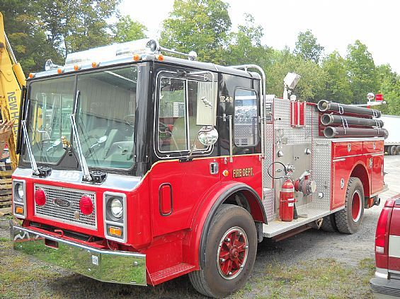 1980 Mack MR685P Tanker Fire Truck HeavyDuty For Sale in Medusa, NY A00148 | Want Ad Digest Classified Ads