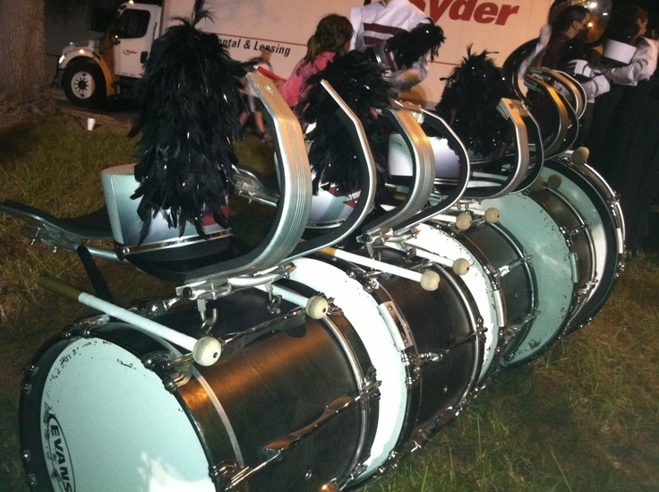 Bass Drums At Their Quiet Moment