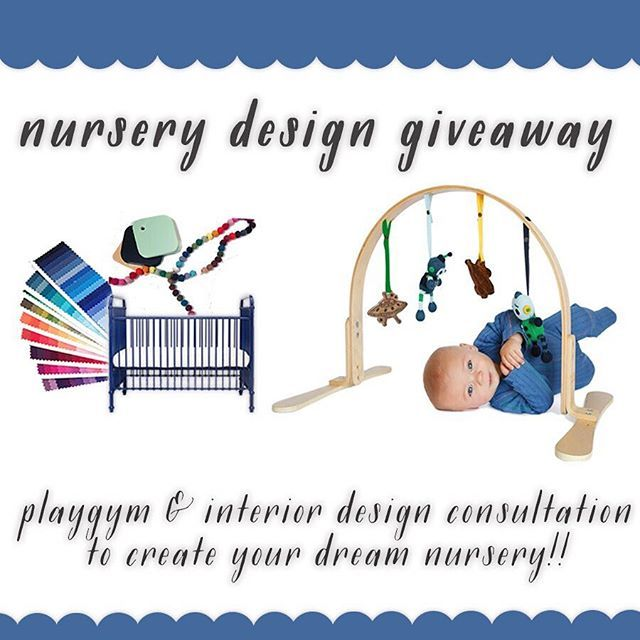 🌿NURSERY DESIGN GIVEAWAY! 🌿 Win a Finn + Emma Play Gym (Robots or Fairytale - you choose!) & Curated Nest exclusive consultation w/ nursery interior designers!  Includes a Facetime consultation & customized mood board for your nursery or playroom from Curated Nest designers Erin & Lina. Mood board will include Play Gym of your choice.  Giveaway ends Sunday, March 5th, winner announced the following day.  All you have to do is: •Like our post on @curatednest and @finnandemma •Follow…