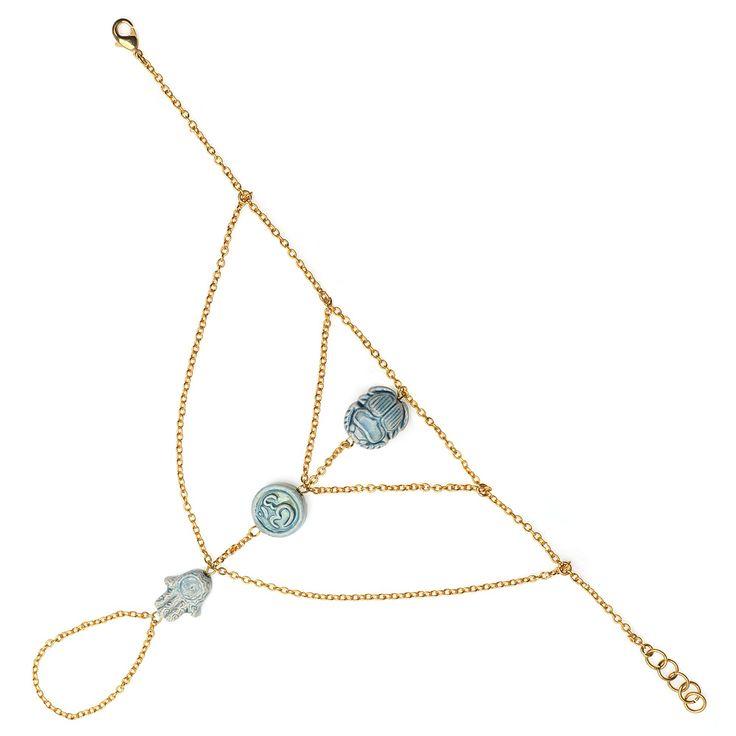 Tutorial - How to: Boho Wrist-to-Ring Bracelet | Beadaholique