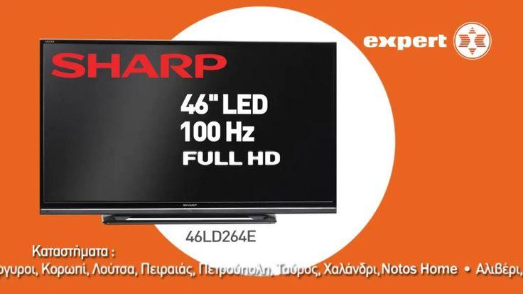 Expert Hellas: Τηλεοπτικό Μήνυμα 2014 Τηλεόραση Sharp + Tablet