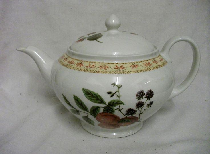 Johnson Brothers FRUIT SAMPLER 2pt Teapot