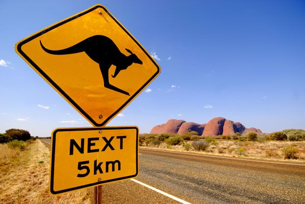 Road trippin' in Australia