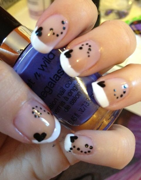 French+Manicure+Designs | french manicure