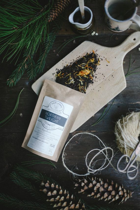 Northern Twilight Organic Handcrafted Tea | Assam Black Tea | BLACK FRIDAY FREE Shipping | Winterwoods Loose Leaf