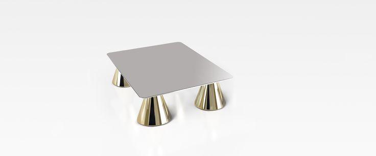 #arbat coffee table, design by Marco Piva for #altreforme, #district collection #interior #home #decor #homedecor #furniture #aluminium