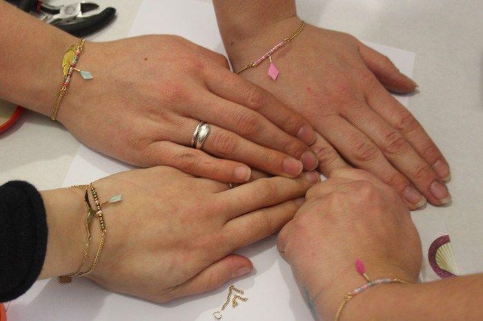 Bracelet perle - Afterwork spécial blogueuses - DécoAvenue - Cabinet de curiosités créatives