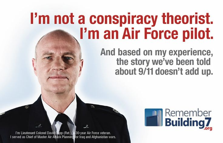 Are you a conspiracy theorist - Or a coincidence theorist - Lieutenant Colonel David Gapp