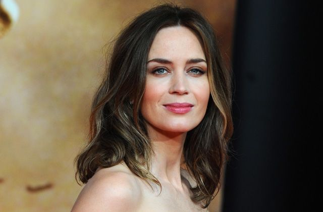Brides: Get Emily Blunt's Edge of Tomorrow Premiere Beauty Look for Your Wedding Day