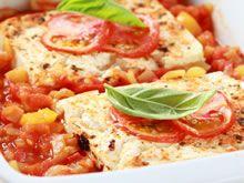 koolvis met tomaat in de oven