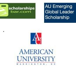 AU Emerging Global Leader Scholarship (AU EGLS) for International Students in USA, and applications are submitted till15 December 2017. American University is awarding an emerging global leader scholarship for international students. http://www.scholarshipsbar.com/au-emerging-global-leader-scholarship.html