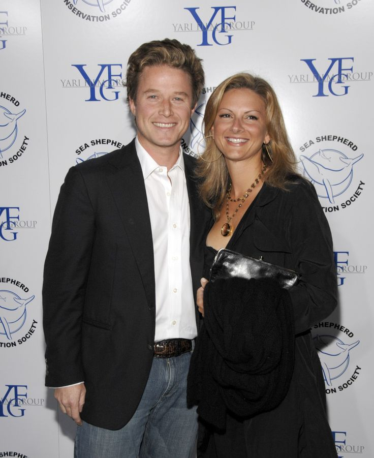 SANTA MONICA, CA -OCTOBER 13:  Billy Bush and Sydney Bush attend 'Breaking The Ice' A Fundraiser to benefit The Sea Shepherd Conservation Society on October 13, 2007 in Santa Monica, California. (Photo by John M. Heller/Getty Images) via @AOL_Lifestyle Read more: https://www.aol.com/article/entertainment/2017/12/07/billy-bush-wife-sydney-davis-reportedly-reconciling/23300665/?a_dgi=aolshare_pinterest#fullscreen