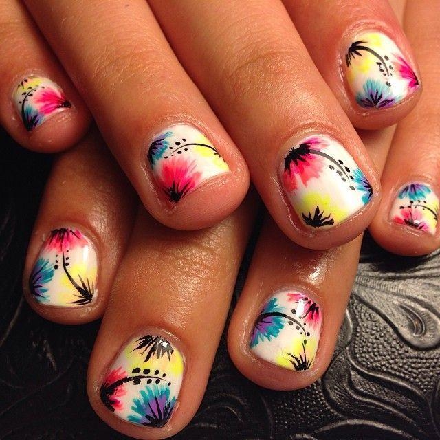 decoracion para uñas cortas
